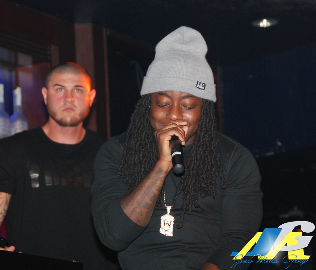 Ace Hood Blue Martini