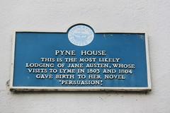 Photo of Jane Austen blue plaque