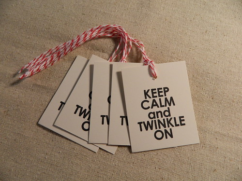 Keep Calm and Twinkle On