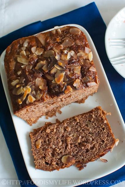 Honey-Nutella-Banana Bread