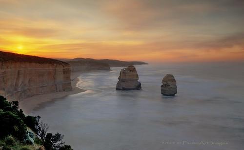 ocean longexposure australia victoria cliffs 12apostles portcampbell nikond700 9stopndfilter nikon2470mm28 photoartimages