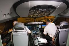 airline(0.0), aircraft cabin(0.0), flight(0.0), pilot(1.0), aviation(1.0), vehicle(1.0), cockpit(1.0),