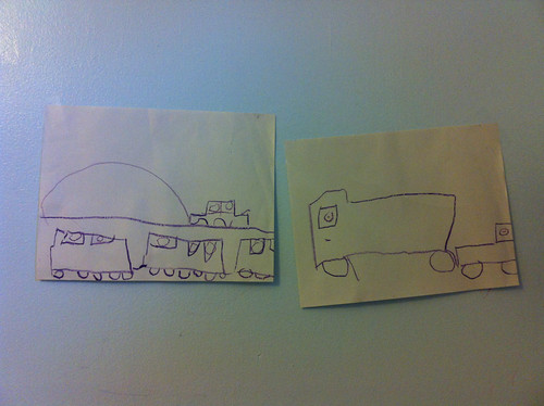 Two pictures by Bella.