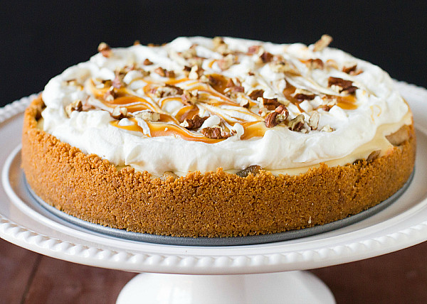 Salted Caramel Apple Cheesecake Pie | Flickr - Photo Sharing!