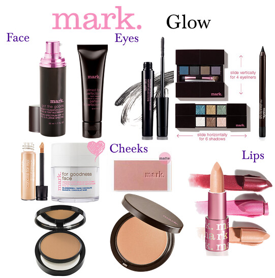 Livingaftermidnite: mark. Makeup Monday: Glow