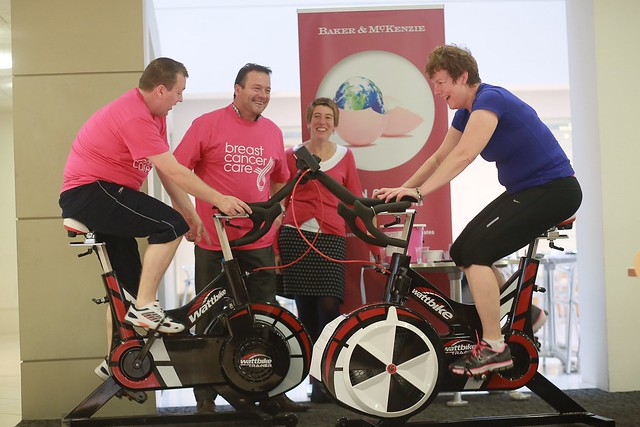 Baker & McKenzie colleagues compete in Breast Cancer Care's Tour de Law cycling challenge