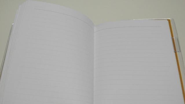 2013南寶跨年日誌。橫線空白頁
