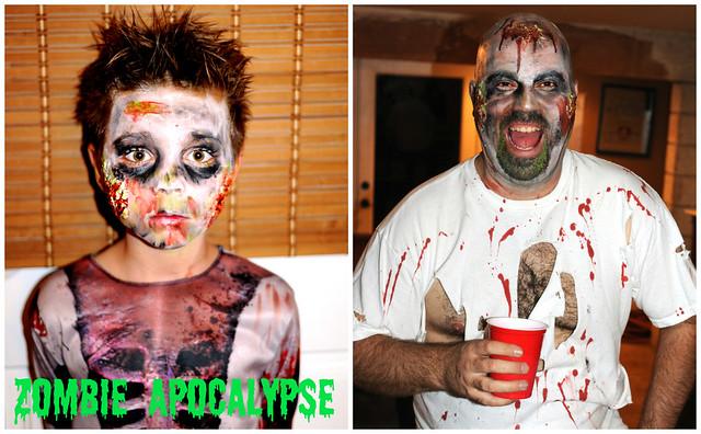 Zombie Apocalypse Halloween Style