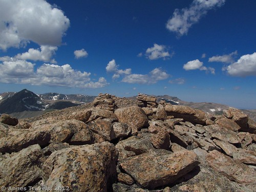 The top of Mount Rearguard, Custer National Forest, Montana