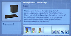 Unexpected Table Lamp
