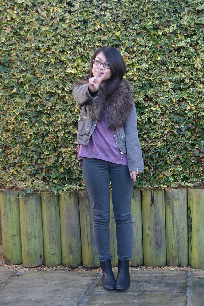 daisybutter - UK Style and Fashion Blog: what i wore, uk fashion blogger, AW12, adriano goldschmied, topshop, winter boots