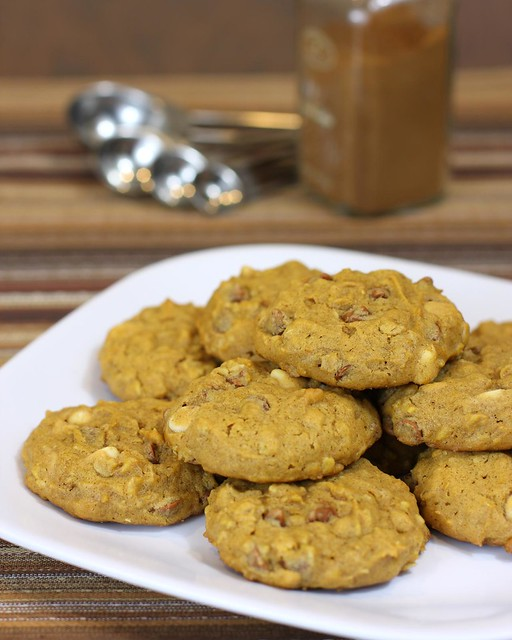 Pumpkin Oatmeal Cookies | Flickr - Photo Sharing!