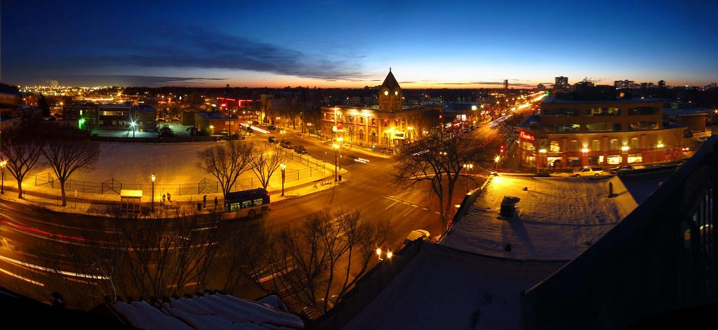 Whyte Avenue Panorama, Edmonton 2012