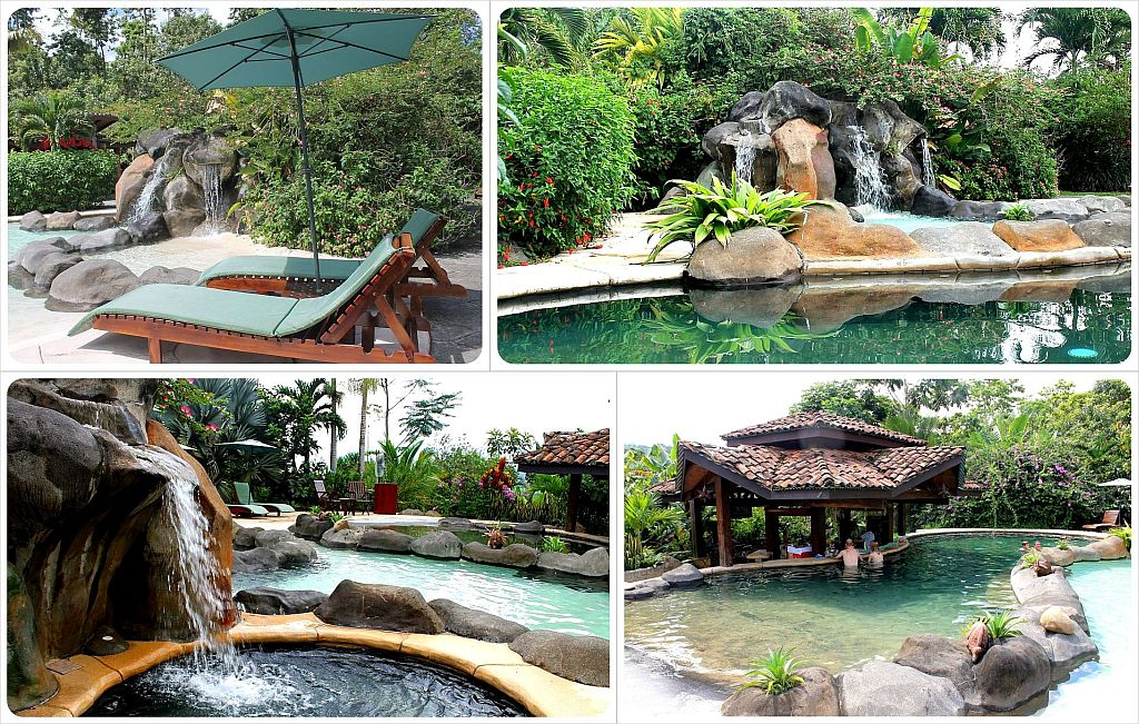 Mountain Paradise Hotel in Arenal Costa Rica swimming pool