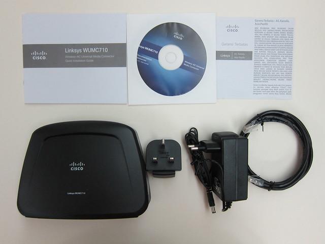 WUMC710 - Box Contents