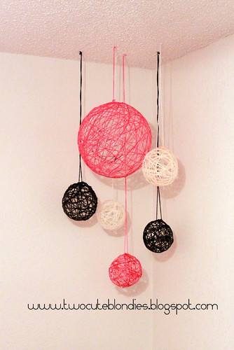 How To Make Decorative String Balls Impressive Diy String Ball Home Decor  Destination Femme 2018
