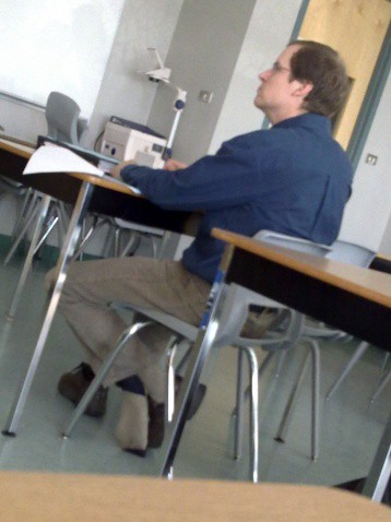 Teacher Shoeplay In Classroom Flickr Photo Sharing