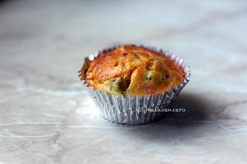 Muffin salati di ricotta e zucchine