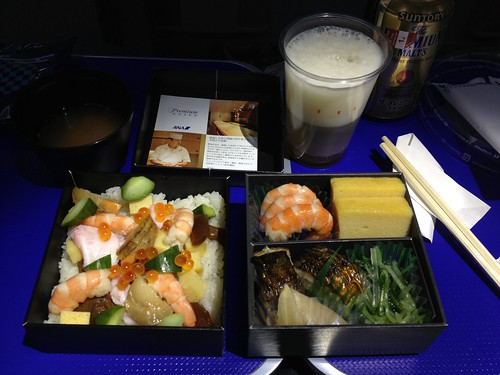 Photo:ANA business class bento By:kalleboo