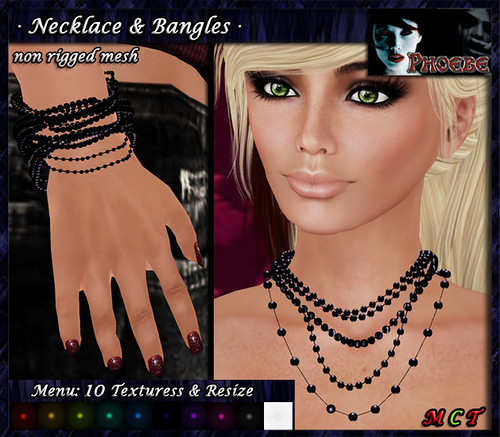*P* Mesh Necklace & Bangles ~ 10 Colors ~