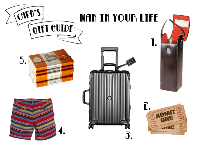 capn's gift guide - man in your life