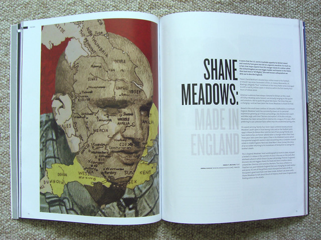SHANE MEADOWS for ANTHEM COVER