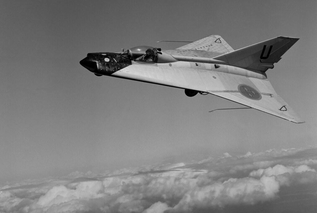 Saab 210 Lilldraken - Experimental aircraft