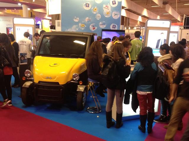 Salon de l 39 education porte de versailles 2012 pr parez for Salon europeen de l education porte de versailles
