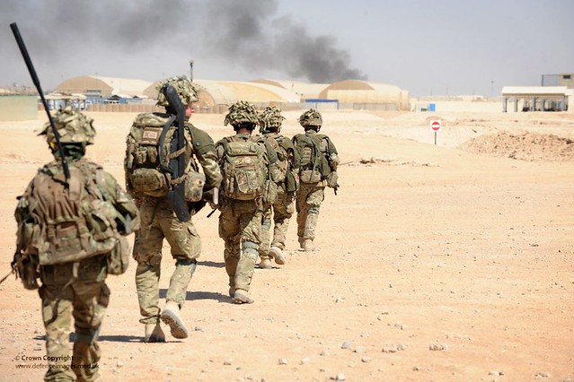 On the terror frontline with British troops helping Afghan