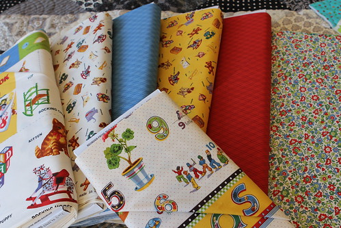 Vintage yardage and panels