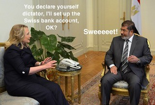 The HRC-Morsi deal?