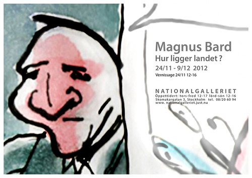 Magnus Bard at Nationalgalleriet