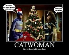 Batman catwoman christmas