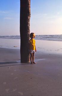 Florida   -   Beach   -   Jessica   -   August 1976