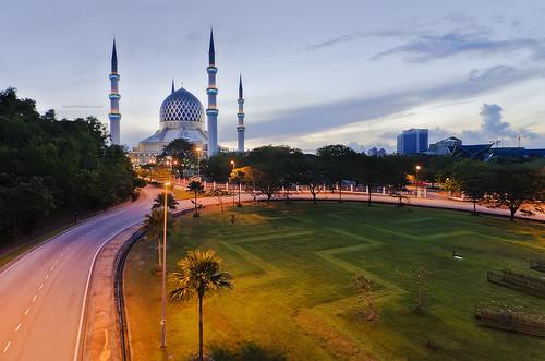 sunrise nikon mosque dri masjid shahalam d7000 nikond7000 hilman79yahoocom shutterholic shutterholicnet hilman79 hilmanali hilmanalicom