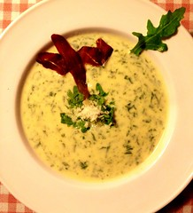 produce(0.0), vegetable(1.0), corn chowder(1.0), raita(1.0), food(1.0), dish(1.0), soup(1.0), cuisine(1.0),
