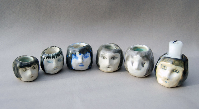 ceramic heads/working out processes