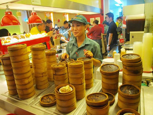 Dimsum Break in SM City North EDSA