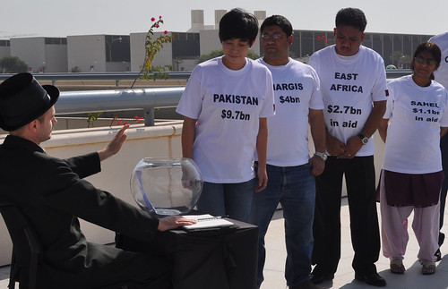 The Green Climate Fund is empty: Oxfam opening stunt at COP18