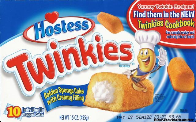 Hostess Twinkies Box -...