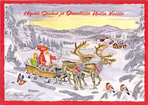finnish merry christmas happy new year