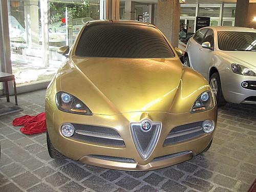 Alfa Romeo Kamal esposta ora al Museo