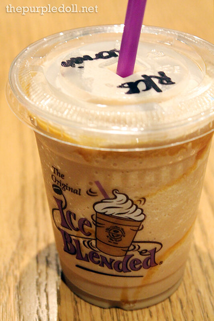Caramel Ice Blended without Whip Cream