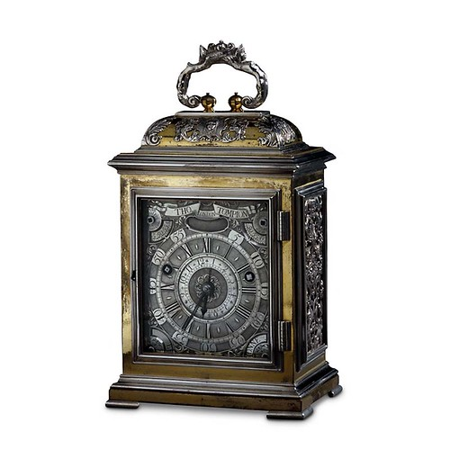 004-Reloj de viaje en miniatura por Thomas Tompion-© Trustees of the British Museum