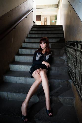 [フリー画像素材] 人物, 女性 - アジア, 台湾人, 女性 - 座る ID:201303021800