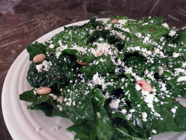 Mexican(ish) kale salad