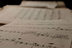 sheet music, calligraphy, white, paper, font, design, close-up, document,