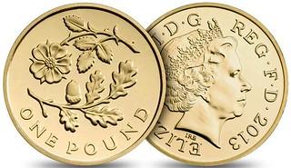 UK £1 2013-E