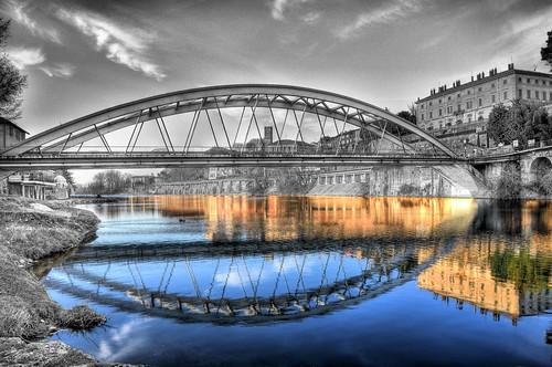 Ponte Canonica esperimento fotografico. by Davide Comotti