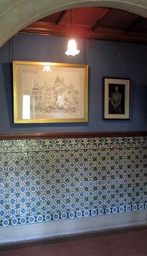 Wall Tiling, Cragside, Northumberland